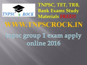 tnpsc group 1 exam apply online 2016 (1)