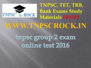 tnpsc group 2 exam online test 2016 (1)