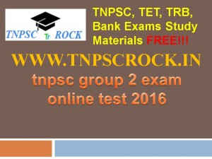 tnpsc group 2 exam online test 2016 (4)