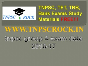 tnpsc group 4 exam date 2016-17 (3)
