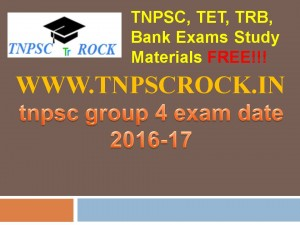 tnpsc group 4 exam date 2016-17 (4)