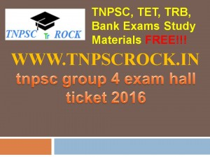 tnpsc group 4 exam hall ticket 2016 (4)