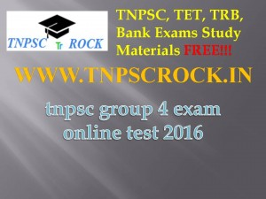 tnpsc group 4 exam online test 2016 (1)