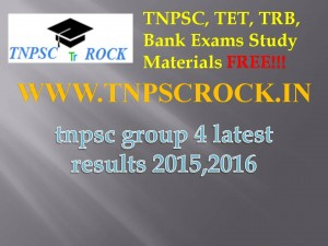 tnpsc group 4 latest results 2015,2016 (1)