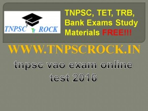tnpsc vao exam online test 2016 (3)