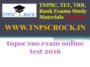 tnpsc vao exam online test 2016 (5)