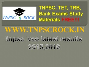 tnpsc  vao latest results 2015,2016 (3)