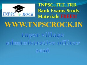 tnpsc village administrative officer 2016 (2)