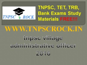 tnpsc village administrative officer 2016 (3)