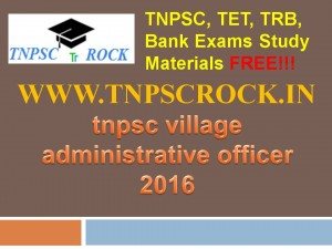 tnpsc village administrative officer 2016 (4)